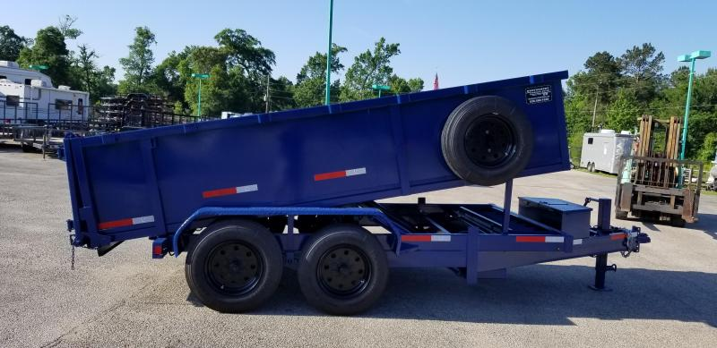 2018 TEXAS PRIDE 7' X 14' Dump Trailer 16K