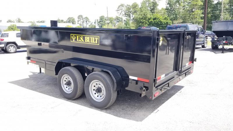 2019 U.S. Built 7X16X3 DUMP TRAILER BP 14K Dump Trailer