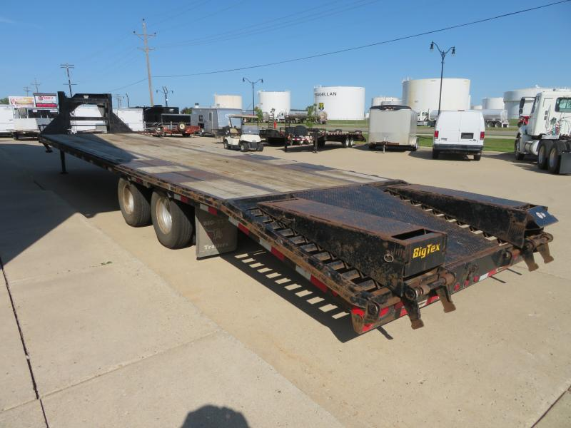 "2012 Big Tex 102""X35' Gooseneck Deckover 102""X35' Gooseneck Deckover"