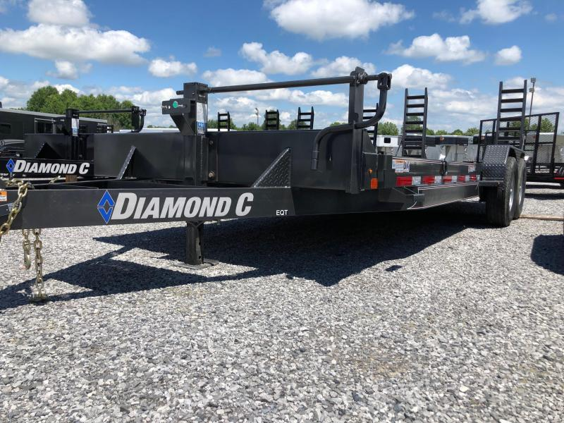 2019 Diamond C  EQT 207-22x82 Equipment Trailer in Ashburn, VA