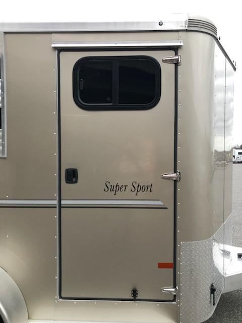 2019 Sundowner 2H BP Super Sport Horse Trailer