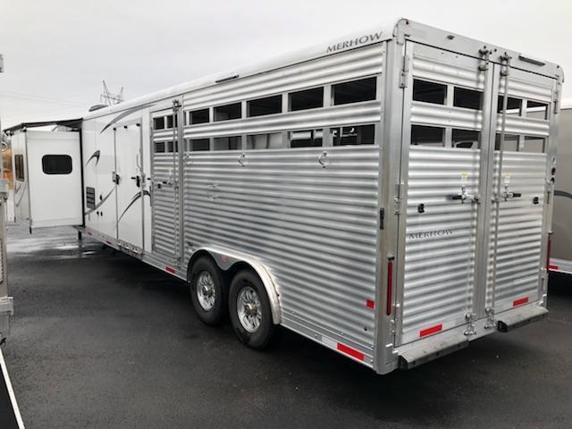 2017 Merhow Stock Combo Horse Trailer