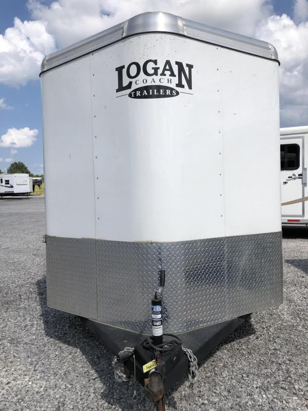 2016 Logan Crossfire 2H BP Horse Trailer