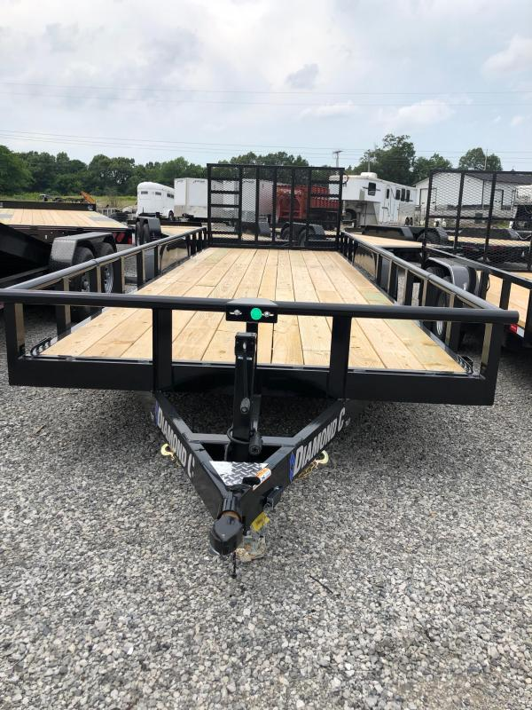 2019 Diamond C Trailers TUT 252-22x82 Equipment Trailer