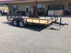 2019 Diamond C Trailers GTU 235-16x83 Equipment Trailer