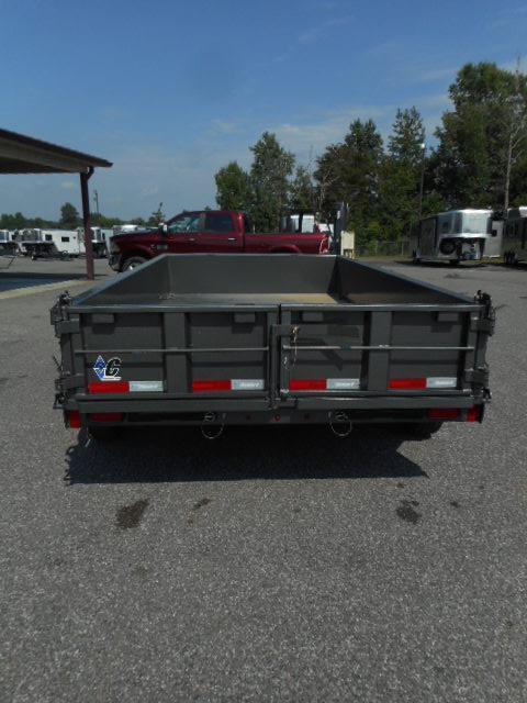 2018 Diamond C  46ED- 12x77 BP Dump Trailer