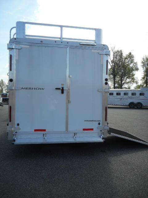 2017 Merhow Trailers 8412-SIDE LOAD Horse Trailer