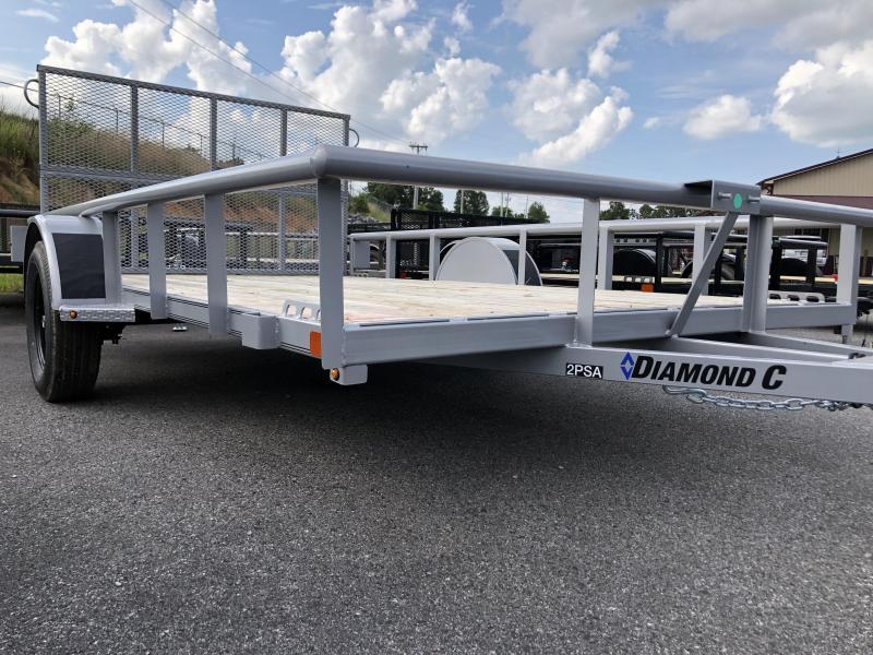 2019 Diamond C 2 PSA 12x83 Utility Trailer
