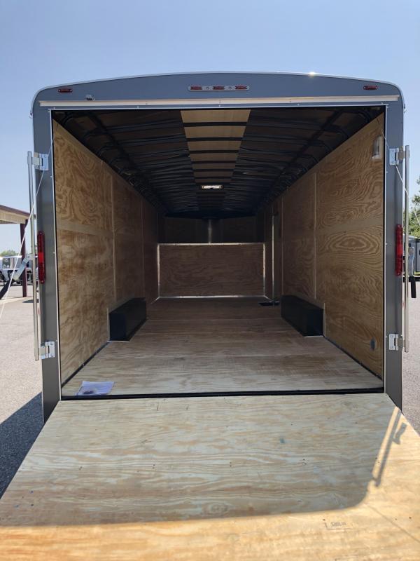 2020 Homesteader G32H2 GN Enclosed Cargo Trailer