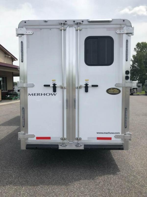 2018 Merhow 7209 RK-S 2H Horse Trailer