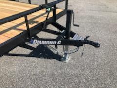 2019 Diamond C  GTU 235-16x83 Equipment Trailer