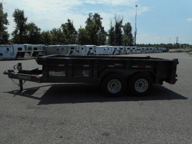 2018 Diamond C  24 LPD-14x82 BP Dump Trailer