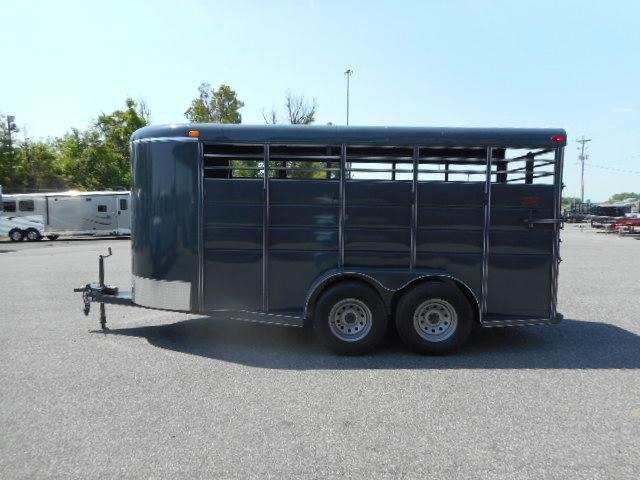 "2018 Calico BP 16x6'x6'6"" Livestock Trailer"