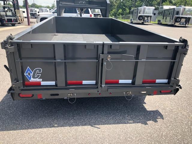 2018 Diamond C Trailers 24 LPD-14x82 GN Dump Trailer