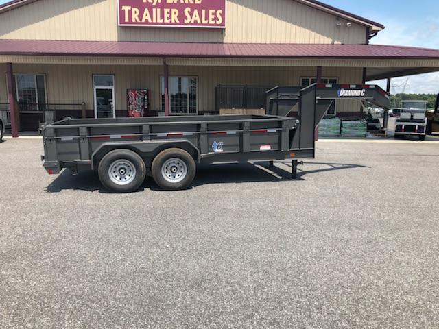 2018 Diamond C Trailers 24 LPD-14x82 GN Dump Trailer in Commerce, MO