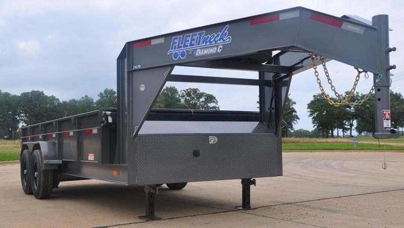 2018 Diamond C Trailers 24LPD Dump Trailer