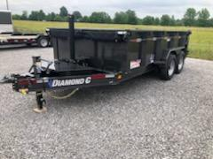 2019 Diamond C Low Pro LPT 14x82 Dump Trailer in Ashburn, VA
