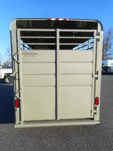 2019 Calico 16' 3H BP Horse Trailer