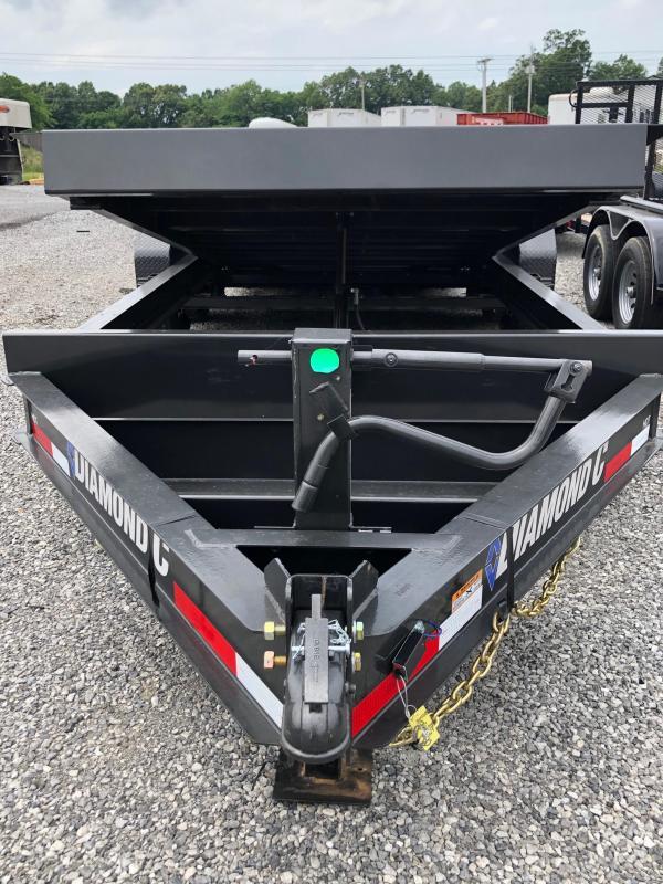 2019 Diamond C Trailers HDT 207-20x82 Full Tilt Equipment Trailer