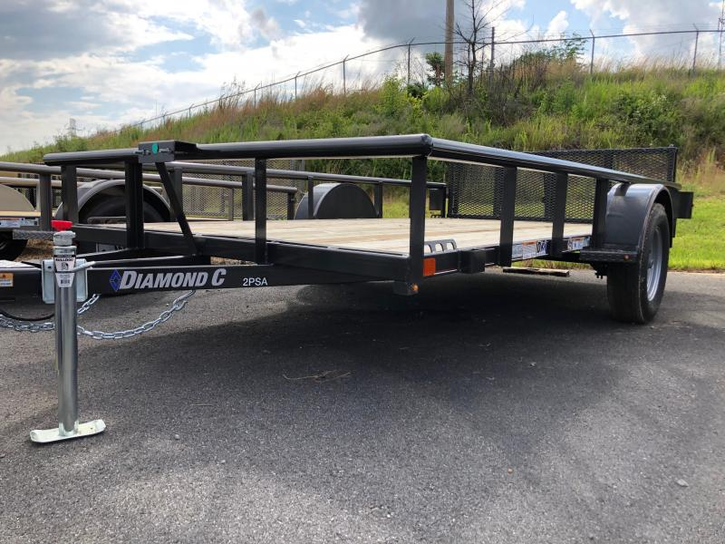 2019 Diamond C 2 PSA 12x77 Utility Trailer in Ashburn, VA