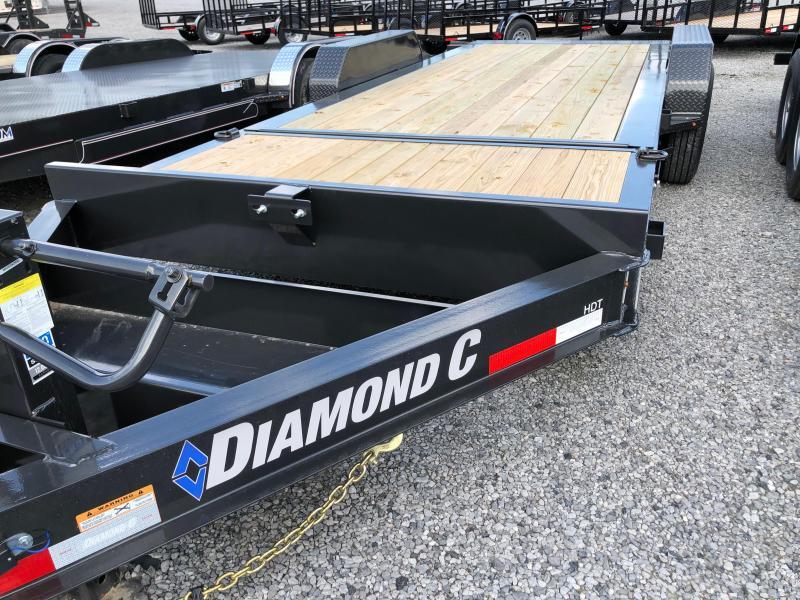 2019 Diamond C  HDT 207-20x82 Equipment Trailer