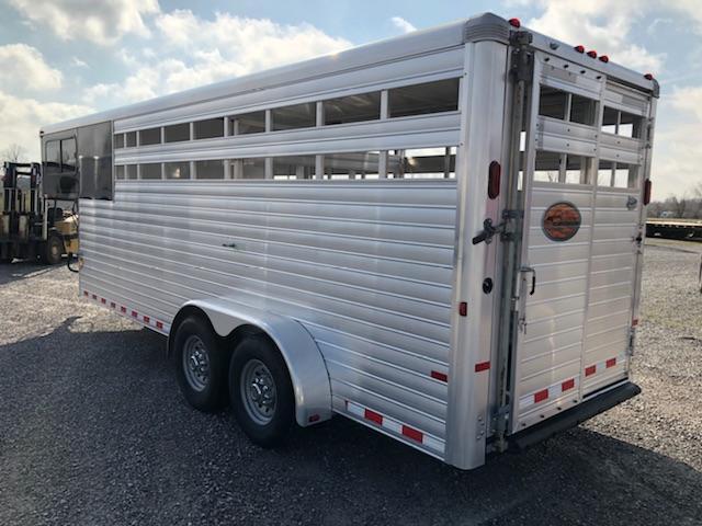 2014 Sundowner 20' Stock Combo Horse Trailer