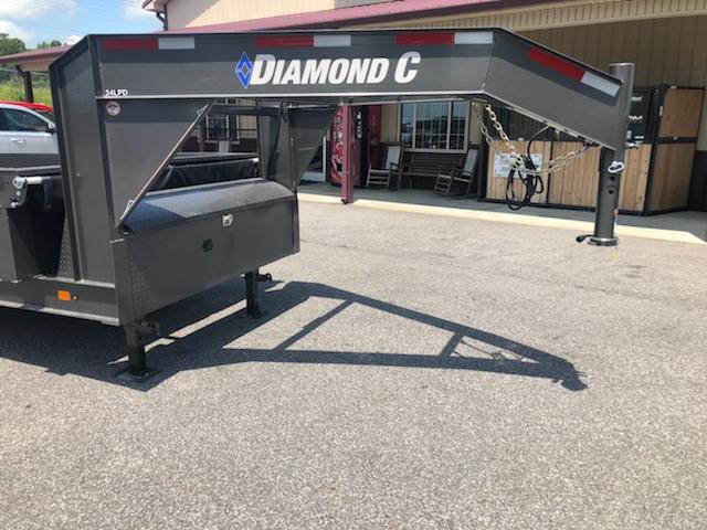2018 Diamond C GN 24LPS-14x82 Dump Trailer