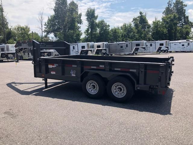 2018 Diamond C GN 24LPS-14x82 Dump Trailer