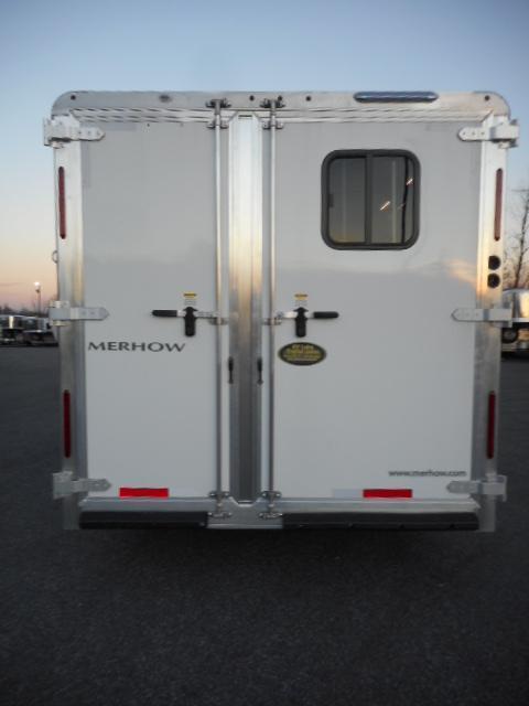 2018 Merhow 8309 3H RWS No Slide Horse Trailer