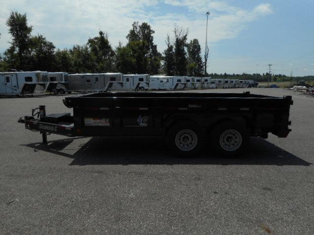 2018 Diamond C Trailers 24 LPD-14x82 BP Dump Trailer