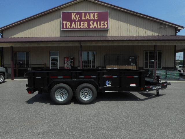 2018 Diamond C Trailers 24 LPD-14x82 BP Dump Trailer in Commerce, MO