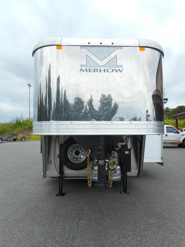 2019 Merhow Trailers 8316RWS-B Horse Trailer