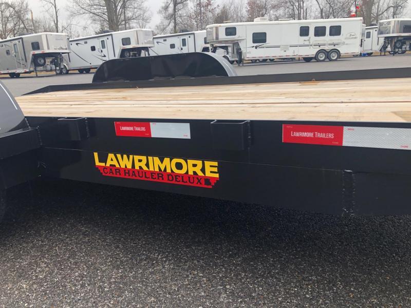 2018 Lawrimore 83x18 DC Car / Racing Trailer