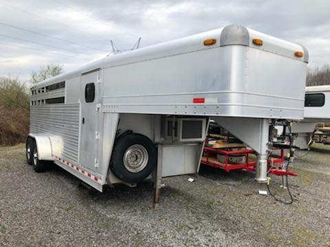 2000 4-Star Trailers Stock Combo Horse Trailer