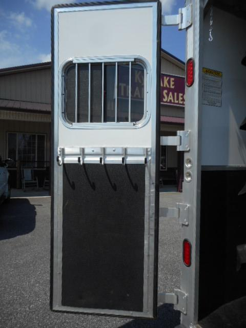 2016 Kiefer Built 4H GN Horse Trailer