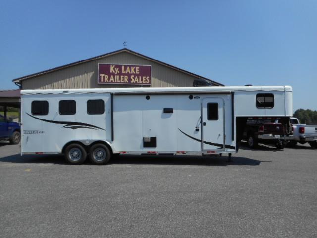 2017 Bison Trailers 3H-Trail Hand Horse Trailer