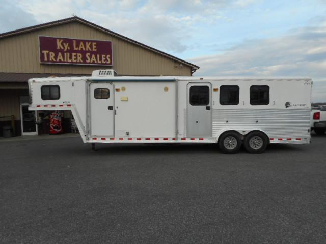 2001 Kiefer Built 3H Horse Trailer