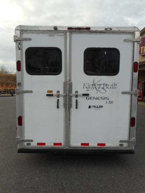 2001 Kiefer Built 3H Horse Trailer