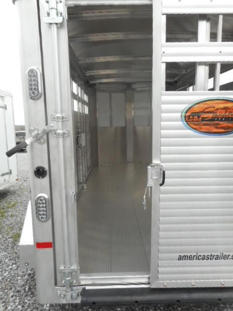 2018 Sundowner 16' BP Stockman Express Livestock Trailer