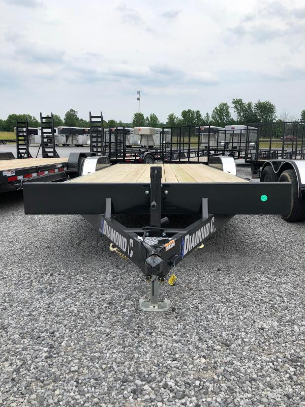 2019 Diamond C Trailers GTF 252-20x82 Equipment Trailer in Ashburn, VA
