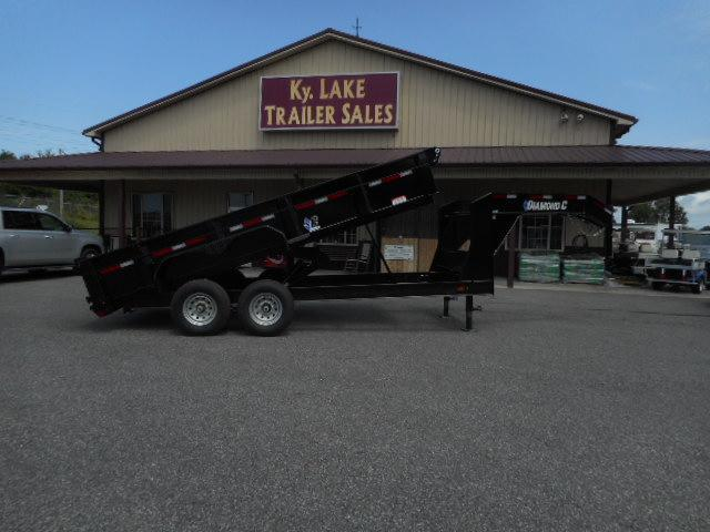 2018 Diamond C Trailers 24 LPD-14x82 GN Dump Trailer in Bloomfield, MO