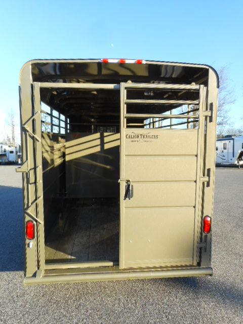 2019 Calico 16' BP Livestock Trailer
