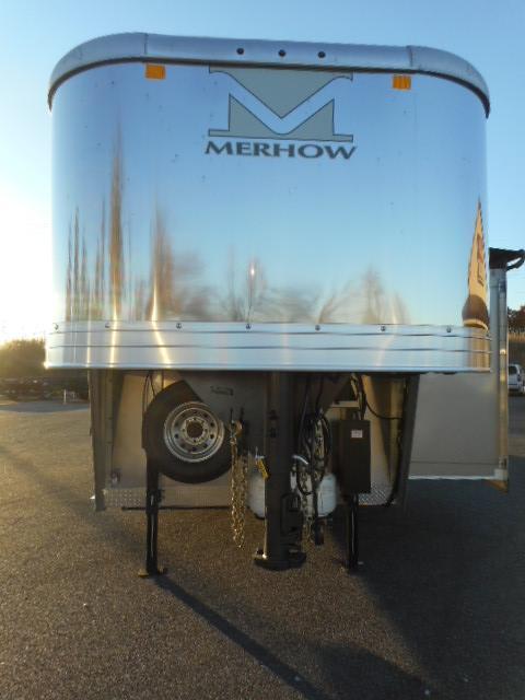 2018 Merhow 8011 Stock/Combo Trailer