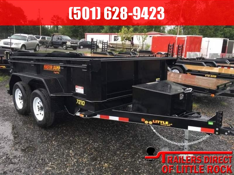 2017 Doolittle Trailers Masterdump 72x10 Tandem Axle 7000 Lbs in Briar, MO