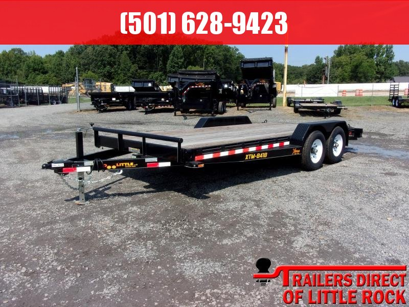 2018 Doolittle Trailer XTREME 84X18 (16+2) 7K SELF STORE RAMPS  in Philipp, MS