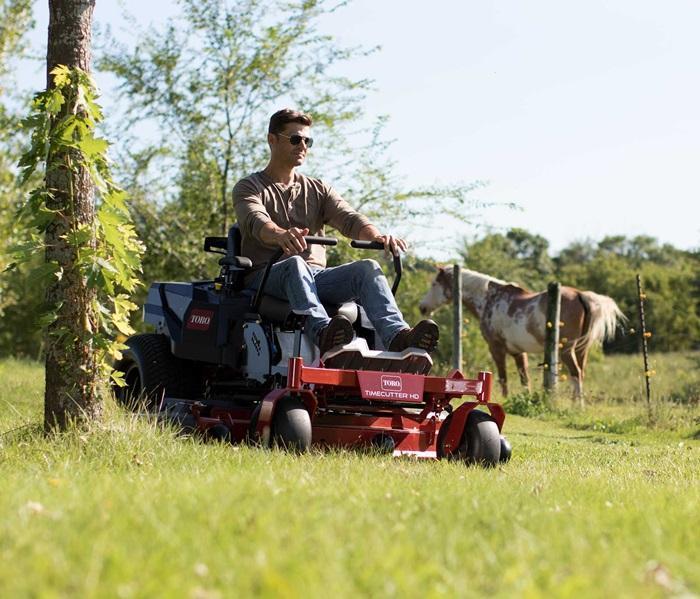 "2019 Toro 54"" MyRIDE TimeCutter HD Zero Turn Mower 75212 Lawn"