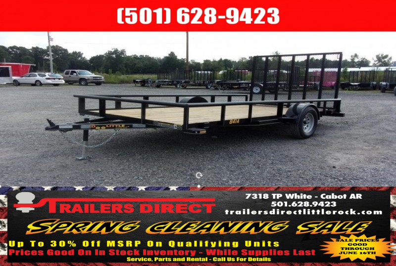 BLOWOUT!! 2019 Doolittle Trailer Mfg Utility 84X14 Pipe Top Utility Trailer