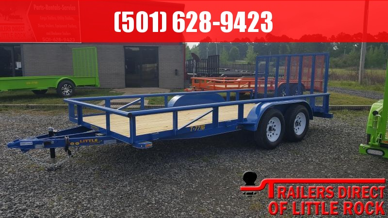 2018 Doolittle Trailer Mfg Pipe Top 77x16TA Utility Trailer