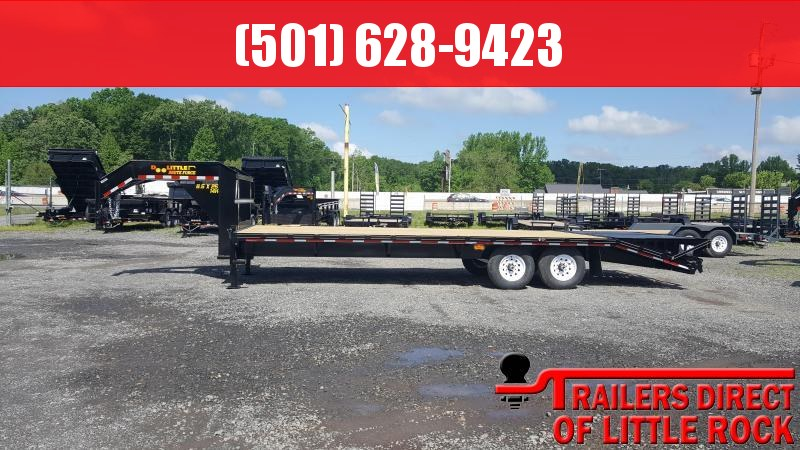 2018 Doolittle Trailer Mfg Brute Force 102x25 14k Flatbed Trailer