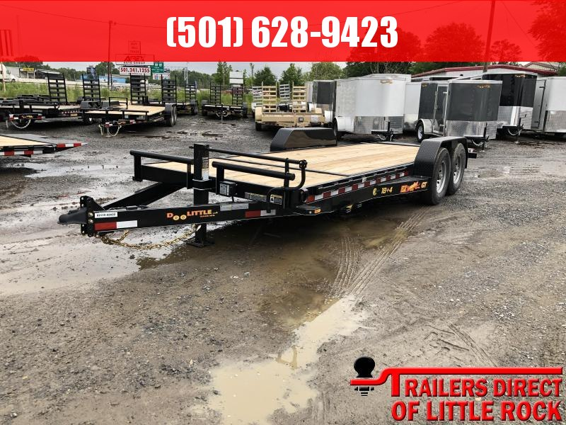 2019 Doolittle Trailer Mfg Doolittle GT EZ LOADER 82x22 (184) 14K GVWR Equipment Trailer in Prattsville, AR
